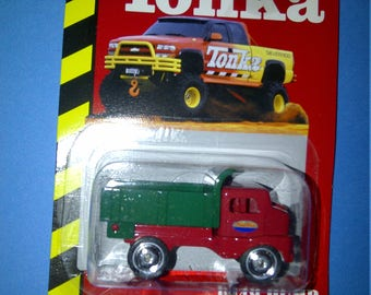 Tonka 1949 Dump Truck 1/64th Diecast new on card