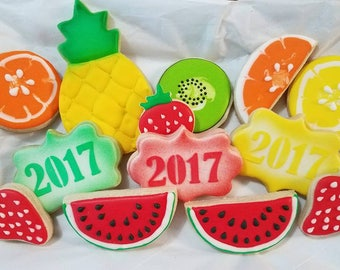 Fruit Themed Cookies