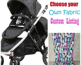 Strider Compact and Plus Pram / Stroller Liners Custom Made - Choose your fabric