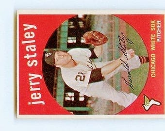 Vintage 1959 Topps #426 JERRY STALEY EX