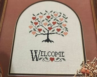Vintage The Sweetheart Tree Counted Cross Stitch pattern