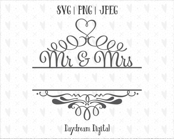 mr and mrs monogram template name placeholder decorative