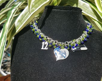 Seattle Seahawks Bracelet