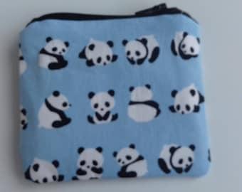 Pandas coin purse
