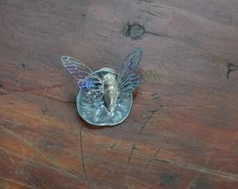 Fae Cicada Brooch