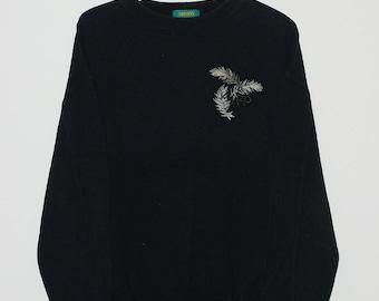 Vintage Kenzo Golf Kenzo Paris Big Logo Embroidered Crewneck Sweatshirts