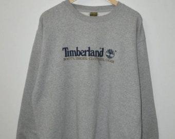 Vintage Timberland logo weathergear sweatshirt