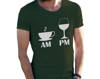 Day Routine T-Shirt for Men Cool Gift