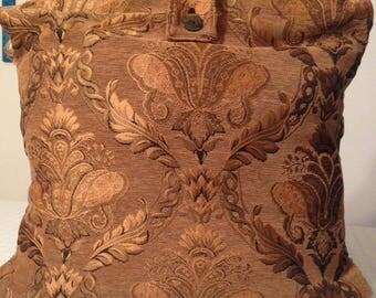 Large Tapestry Carpet Bag