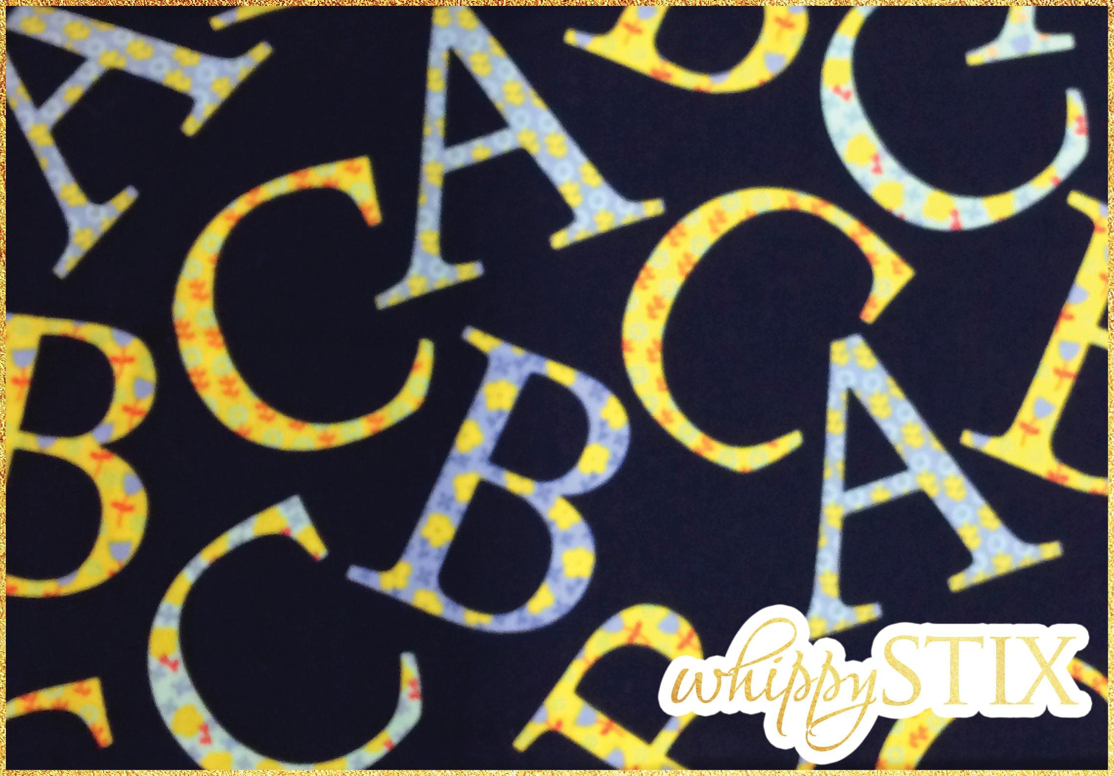 alphabet fabric by the yard oh baby by cynthia rowley michael