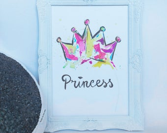Princess - Art Print