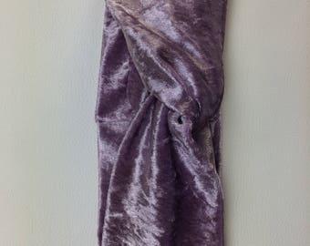 Headband in light purple