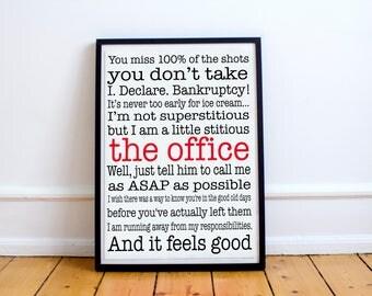 The office tv show, michael scott, office tv show, the office print, the office, michael scott print