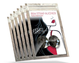 Newest Fashion Accessory * Perfect for Bride, Bridesmaids and Bachelorette Party Gifts * Align Your Bra and Garment Straps