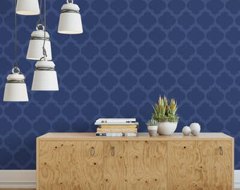 Moroccan Fill Stencil - Reusable Wall Stencils of a Moroccan Fill Pattern