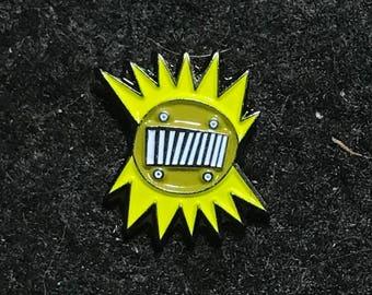 MINI Amboogram Yellow on yellow
