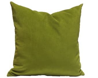 Citrus Velvet Pillow Cover