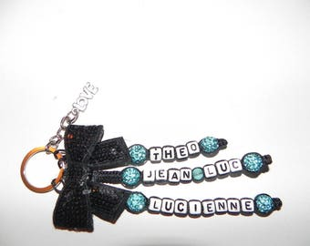 key 3 turquoise and black lines