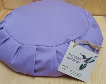 Organic Zafu, Handmade Meditation Cushion, Yoga Pillow, Meditation Pillow