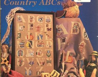Alma Lane Designs - Country ABCs - Cross Stitch Booklet