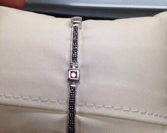 Vintage Style Bracelet, 925 Sterling Silver Vintage Style Bracelet Sterling Silver