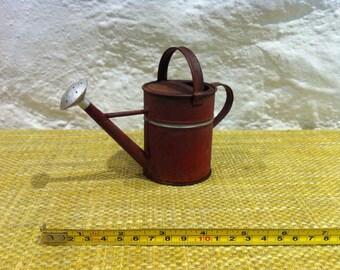 Vintage watering can miniature, decoration garden deco, dollhouse, miniature, accessoires