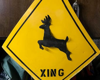 Deer Crossing Sign, Watch Out Deer!