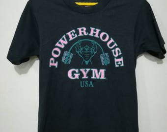 Rare vintage power house gym t-shirt S size