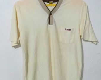 Rare vintage hang ten t-shirt single pocket M size