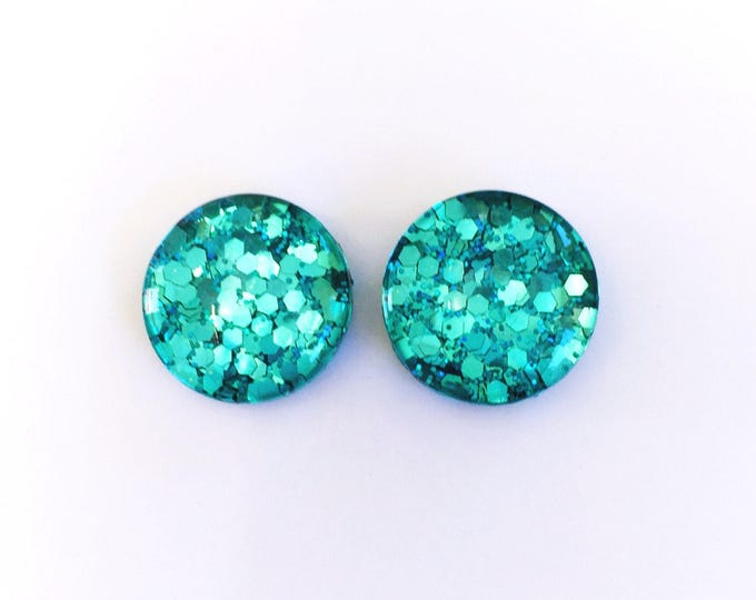 The 'Jellyfish' Glass Earring Studs