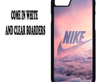 Nike clouds Sports ware retro Iphone / Samsung mobile phone case 4/4s/5/5s/6/6s7/7s(+)