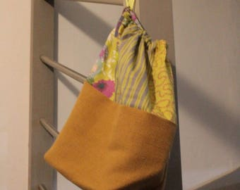Multi use linen and printed pouch