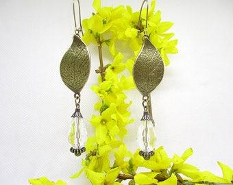 Earrings port royal crystal.