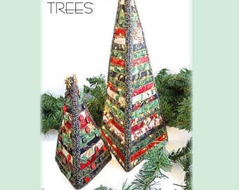 Christmas Trees Quilted Tree Pattern