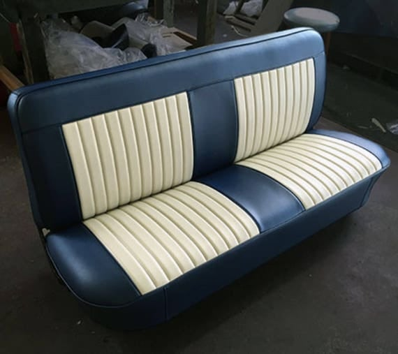 Pleats and bolsters oh my custom upholstery cover chevy c