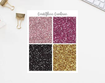Boutique Gal Glitter Headers (For use in Erin Condren)