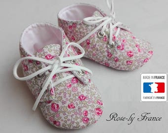 SALE! Genuine cotton liberty Eloise baby shoes