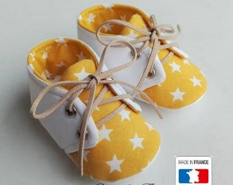 PROMOTION baby yellow and White Star