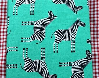 "Hand made notebook ""Zebra"""