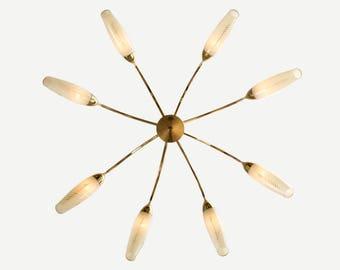 Cone lamp, ceiling lamp, 50s, lamp, Sputnik (707054)