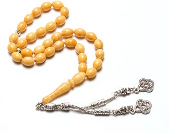 Natural baltic amber, islamic prayer beads, amber prayer beads, tesbih, tasbih, misbaha, tesbih kehribar, amber islamic prayer beads