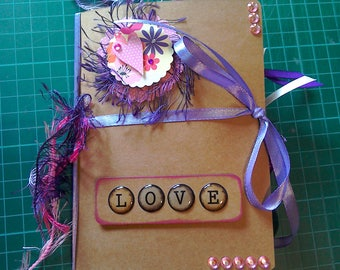 Handmade LOVE junk Journal