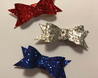 Fourth of July Hair Bow set