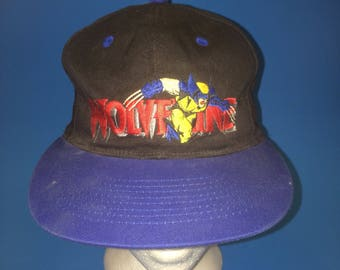 Vintage wolverine marvel comics snap back at adjustable 1993 anco X men