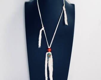 Halloween sckull pendant necklace