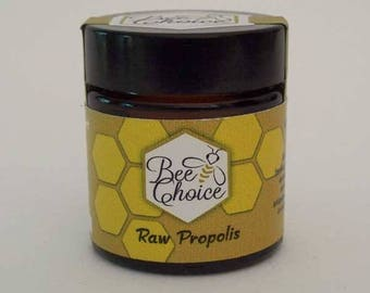 Raw propolis, Fresh, natural,  pure 30gr (1oz)