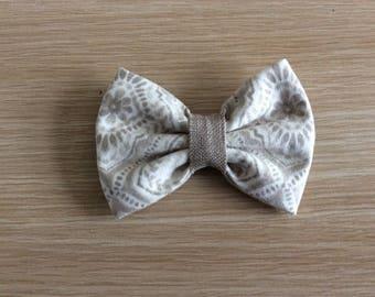 Dog collar bow