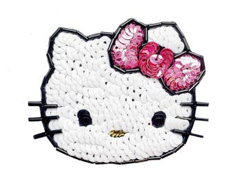 Hello Kitty Sequin Patch