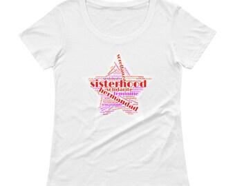 Sisterhood Ladies' Scoopneck T-Shirt