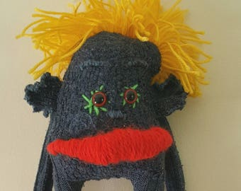 Handmade Sock Monster